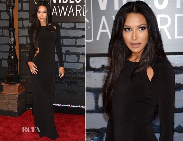 Naya-Rivera-In-Vintage-Paco-Rabanne-2013-MTV-Video-Music-Awards-VMAs
