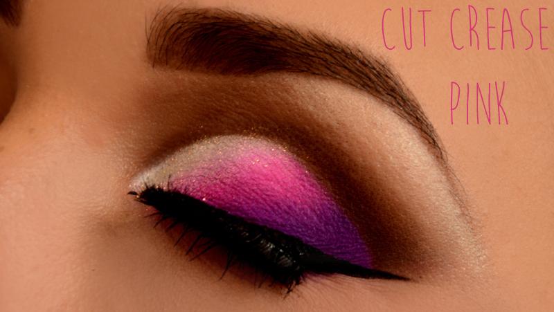 cut crease rosa