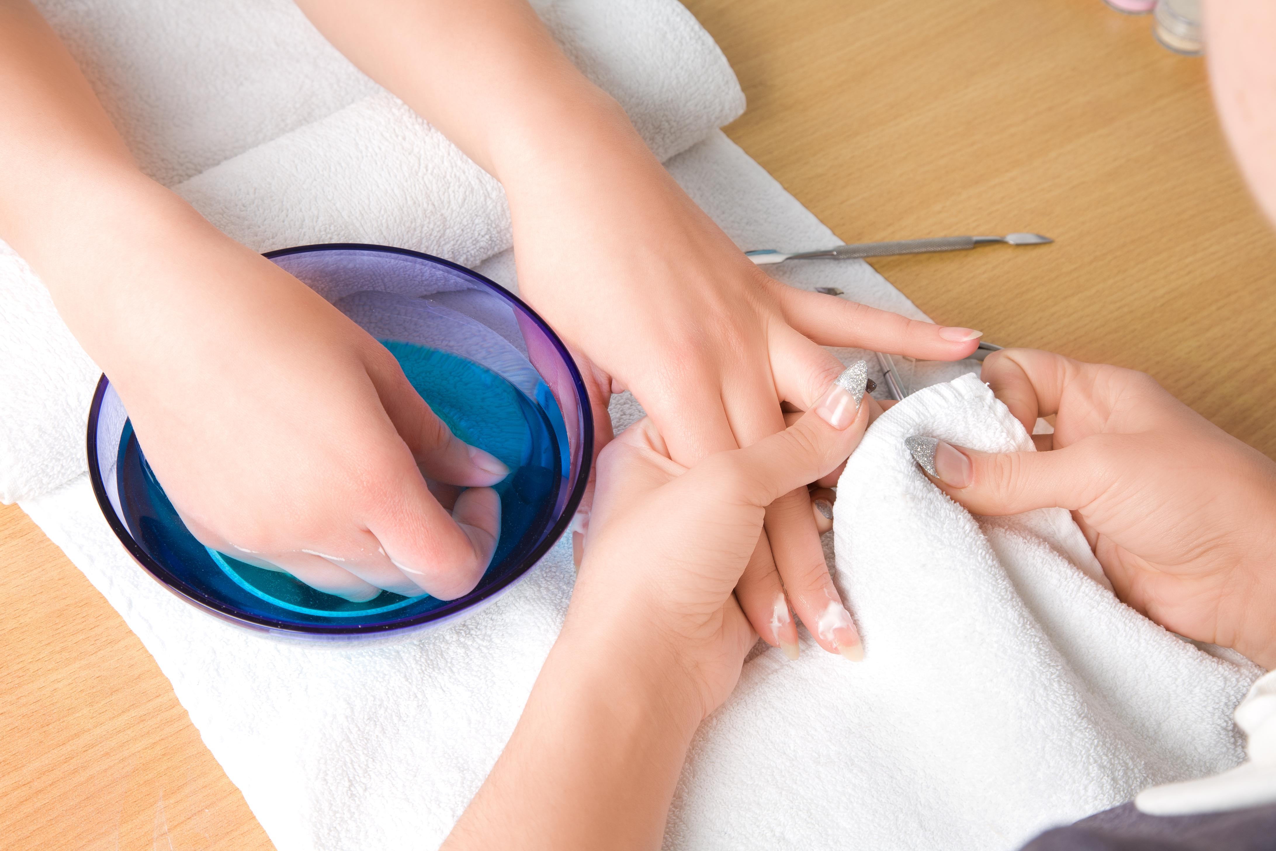 Manicure-at-Studio-M-Salon-and-Spa