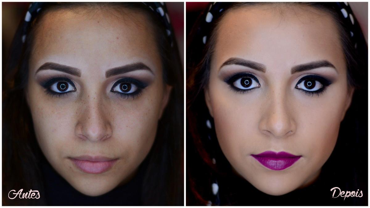 maquiagem inverno e pele
