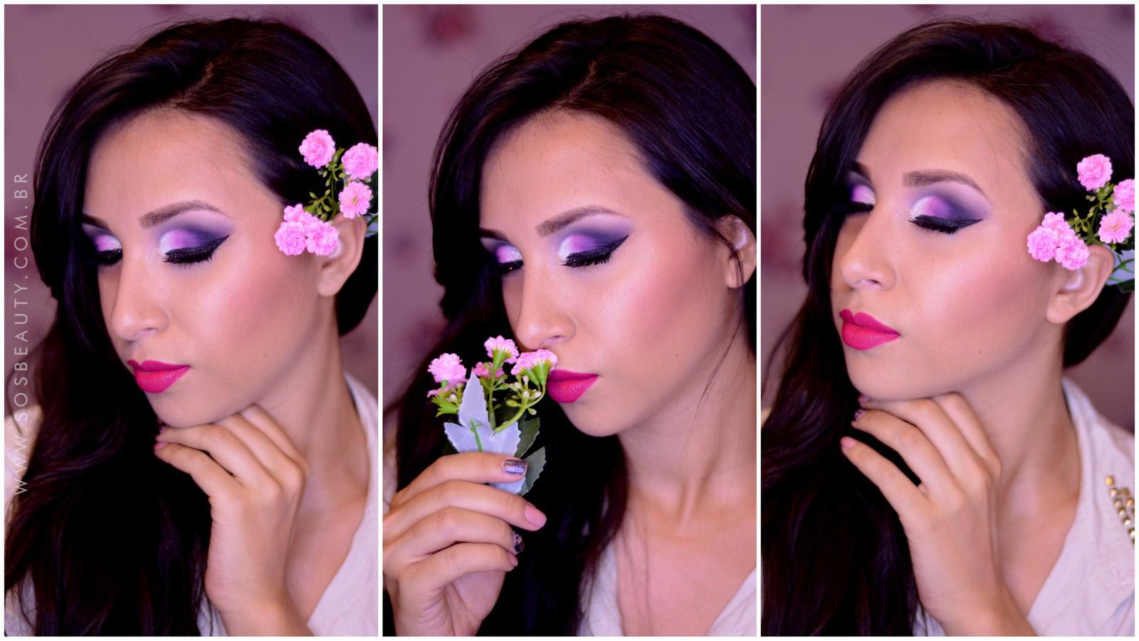 maquiagem outubro rosa e concurso2